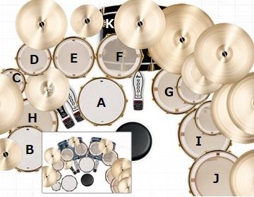 R40:ドラムセット